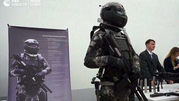 Ekwipunek rosyjskiego żołnierza przyszłości - Sputnik Polska