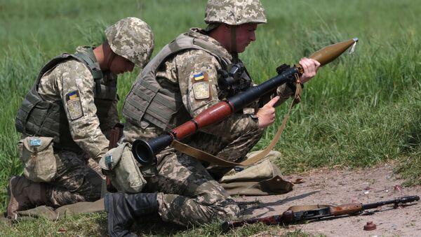 Ukraińskie Ministerstwo Obrony ocenia sytuację dotyczącą zaopatrzenia sił zbrojnych w amunicję do niektórych rodzajów broni jako krytyczną - Sputnik Polska