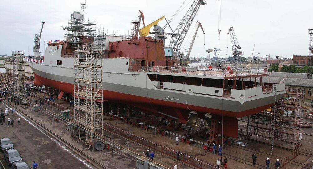 Wodowanie fregaty