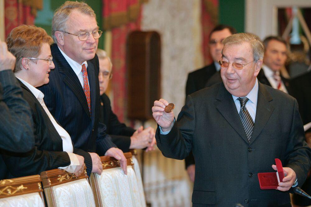 Prezes Izby Przemysłowo-Handlowej FR Jewgienij Primakow w Kremlu