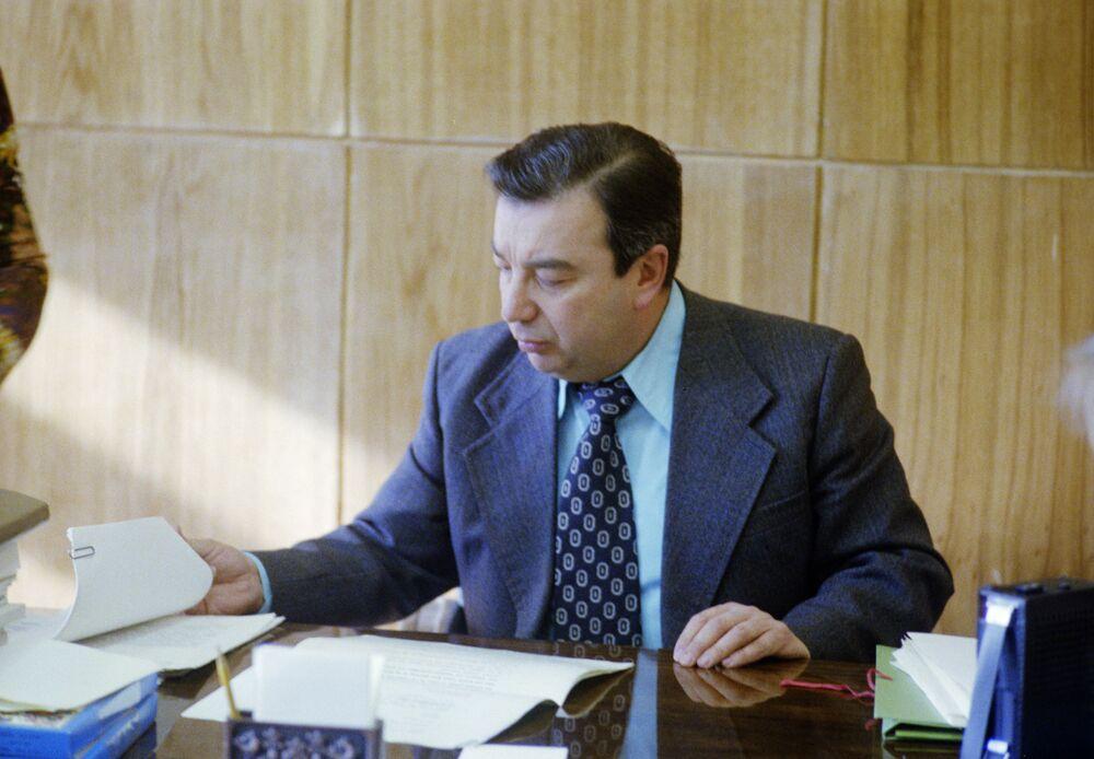 Dyrektor Instytutu Orientalistyki Jewgienij Primakow
