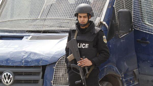 Tunezyjska policja - Sputnik Polska