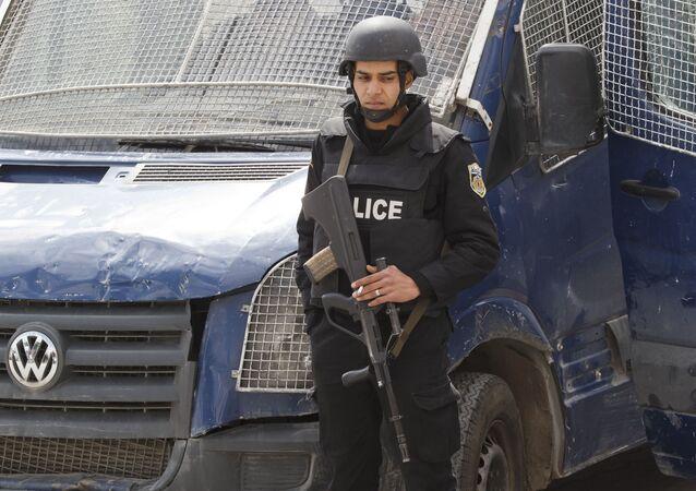 Tunezyjska policja