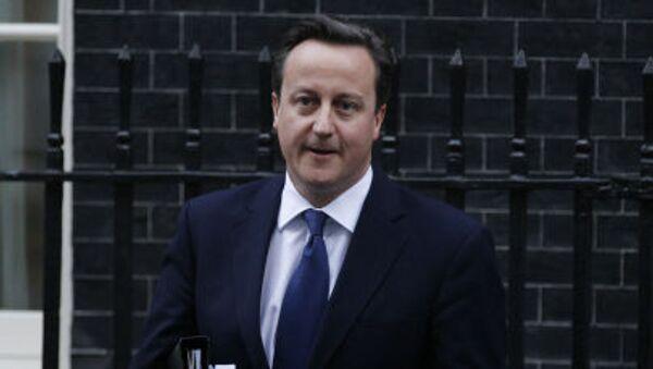 Brytyjski premier David Cameron - Sputnik Polska