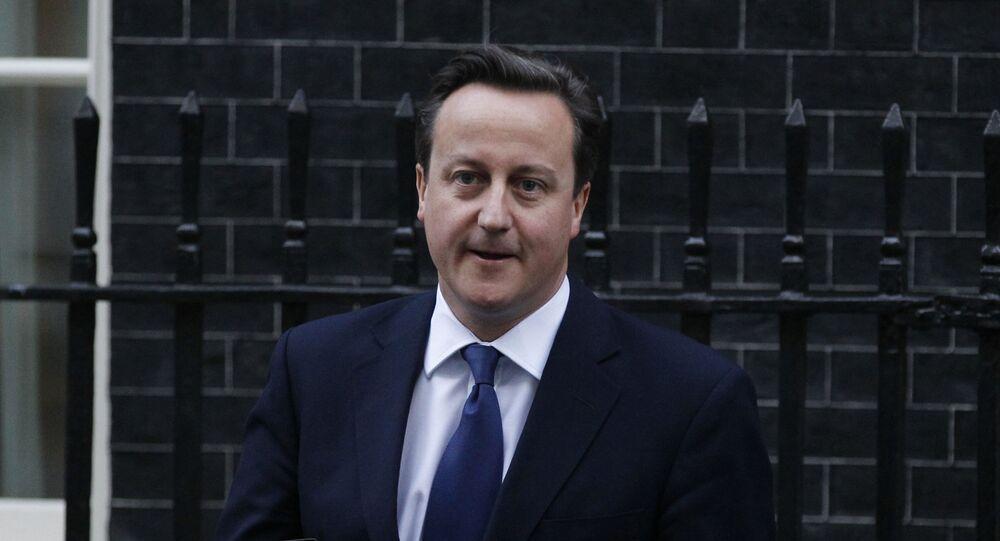 Brytyjski premier David Cameron