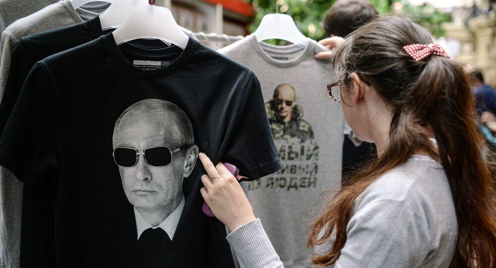 Koszulki z wizerunkiem Putina