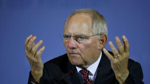 Wolfgang Schäuble - Sputnik Polska