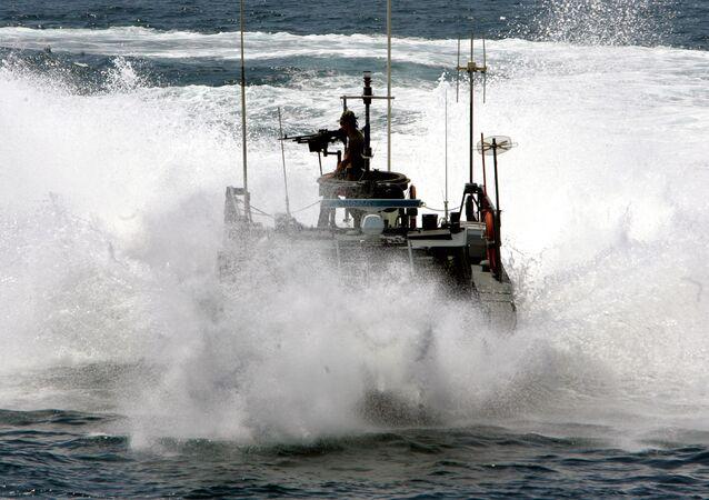 Kuter greckiej straży wybrzeża