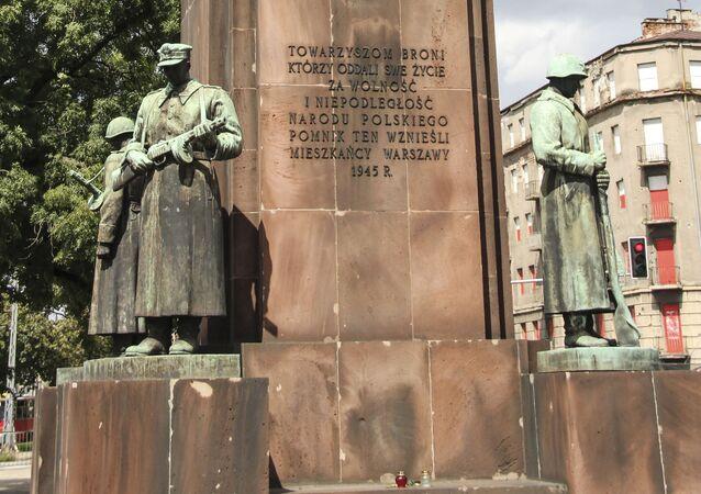 Pomnik Polsko-Radzieckiego Braterstwa Broni w Warszawie