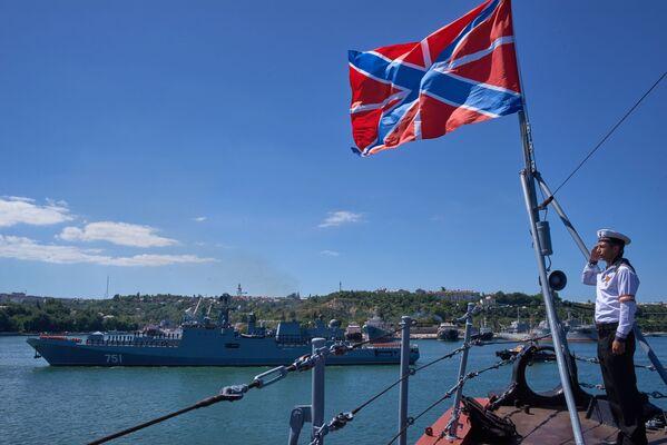 Fregata, nazwana na cześć admirała Marynarki Wojennej Imperium Rosyjskiego Nikołaja von Essena, została przekazana flocie 7 czerwca 2016 roku. - Sputnik Polska