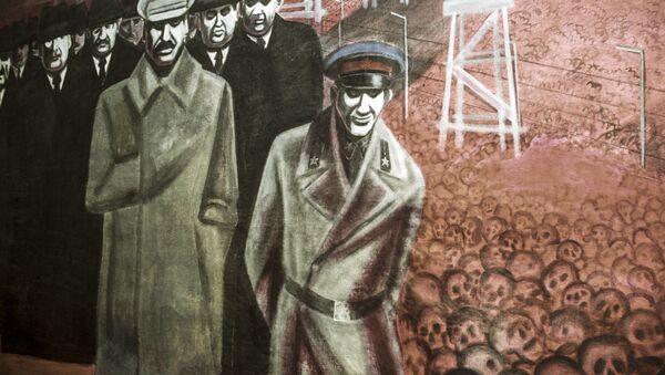 Obraz Represje stalinowskie autorstwa Igora Obrosowa - Sputnik Polska