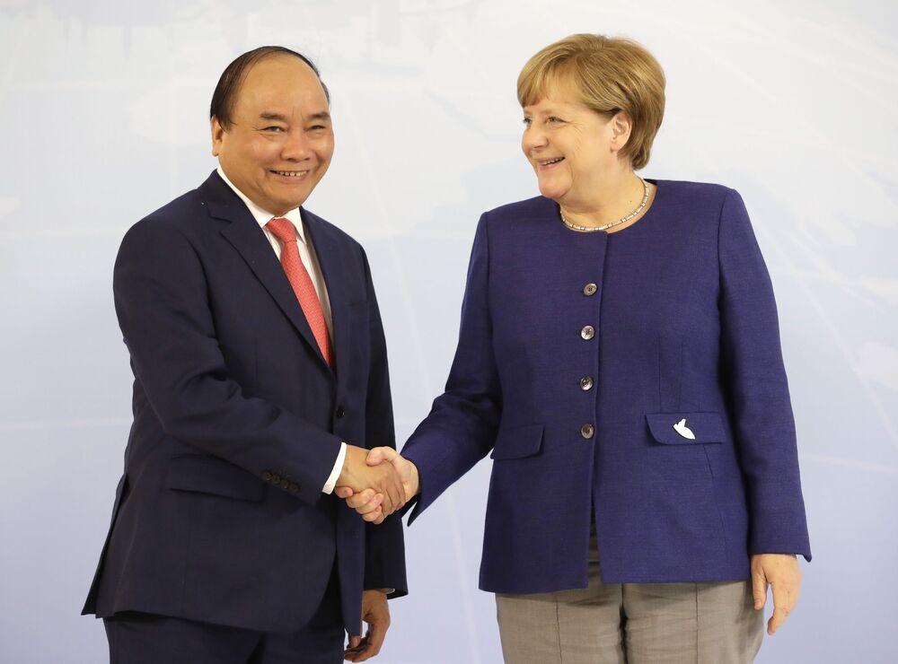 Premier Wietnamu Nguyen Xuan Phuc