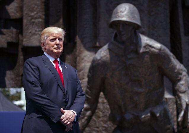 Wizyta prezydenta USA Donalda Trumpa w Warszawie