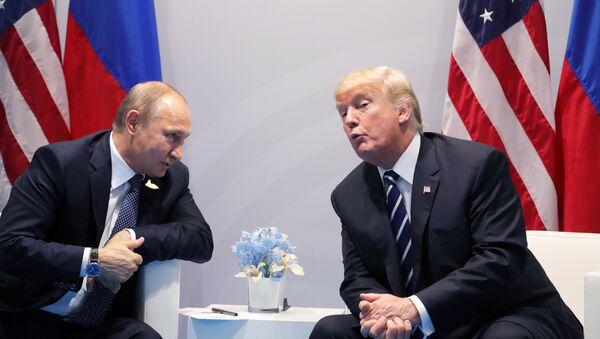 Władimir Putin i Donald Trump - Sputnik Polska