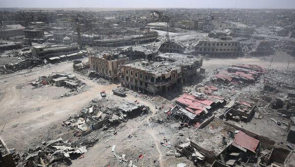 Zdjęcie zniszczonego Starego Miasta Mosul - Sputnik Polska