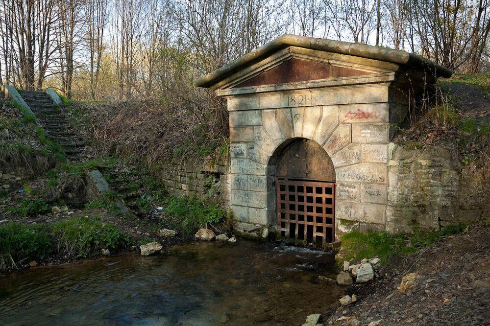 Podziemny system zarządzania wodą w kopalni ołowiu,srebra i cynku w Tarnowskich Górach