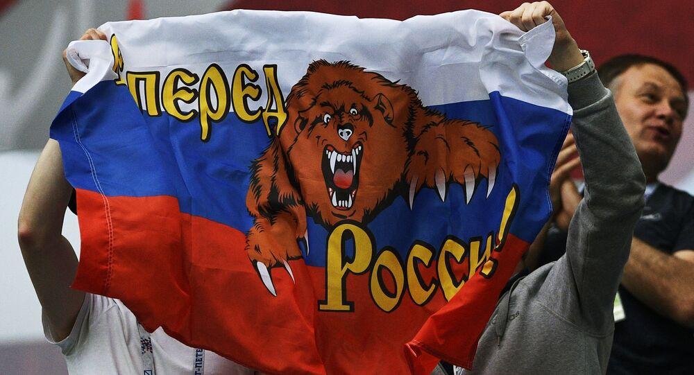Kibice rosyjscy podcza Pucharu Konfederacji 2017