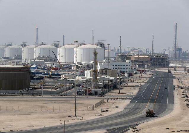 Przedsiębiorstwa produkcji LNG w Ras Laffan, Katar