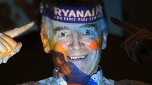 Dyrektor generalny linii lotniczych Ryanair Michael O'Leary - Sputnik Polska
