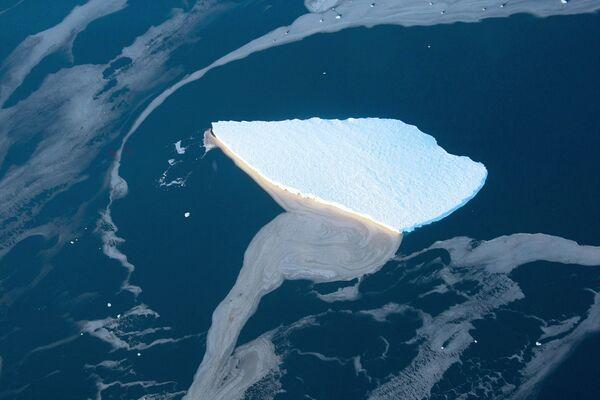 Góra lodowa na Morzu Lazarev u wybrzeży Antarktydy - Sputnik Polska