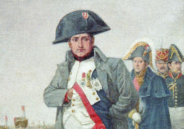 Reprodukcja portretu Napoleona Bonaparte