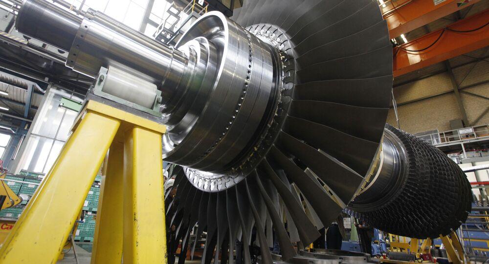 Wirnik turbiny gazowej Siemensa