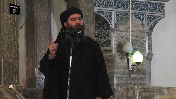 """Przywódca """"Państwa Islamskiego Abu Bakr al-Baghdadi - Sputnik Polska"""
