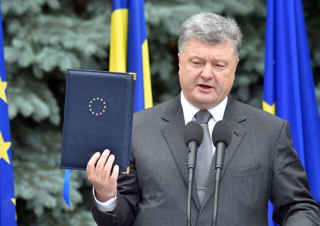 Petro Poroszenko na szczycie Ukraina-UE w Kijowie