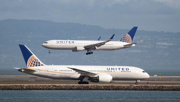 Samoloty na lotnisku w San Francisco - Sputnik Polska