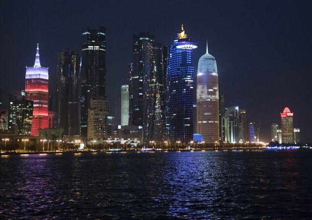 Wybrzeże w stolicy Kataru, Dosze