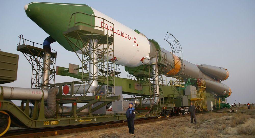 Przygotowania do startu statku kosmicznego Progress M-65