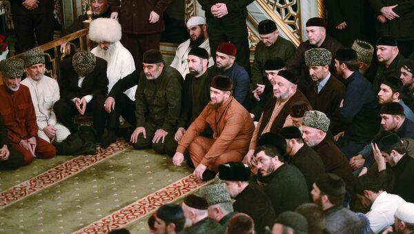 Przywódca Republiki Czeczeńskiej Ramzan Kadyrow - Sputnik Polska