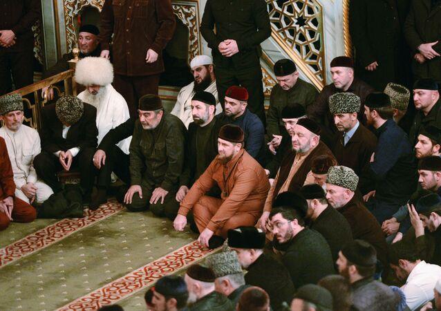 Przywódca Republiki Czeczeńskiej Ramzan Kadyrow