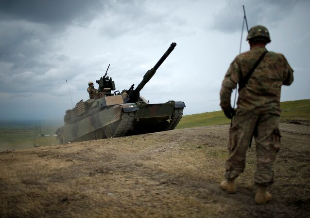 Amerykański czołg Abrams