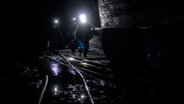 Górnicy w kopalni - Sputnik Polska