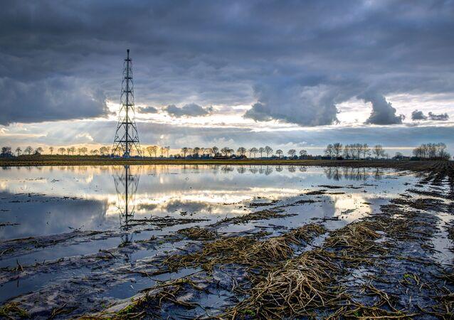 Złoża gazowe w Groningen. Holandia