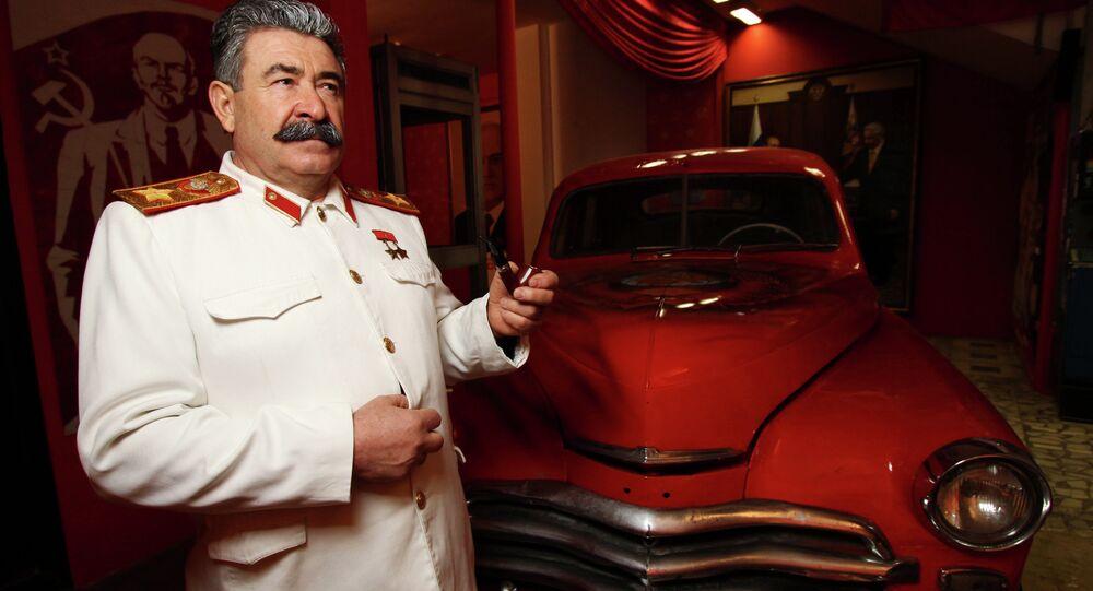 Ceremonia otwarcia Muzeum ZSRR w Rosyjskim Centrum Wystawowym w Moskwie