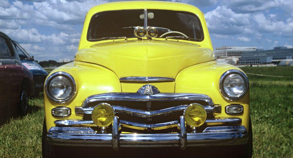 Samochód GAZ Pobieda (Zwycięstwo)