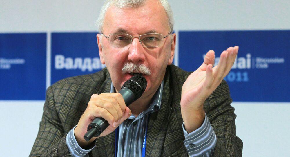 Dziennikarz i politolog Witalij Tretiakow