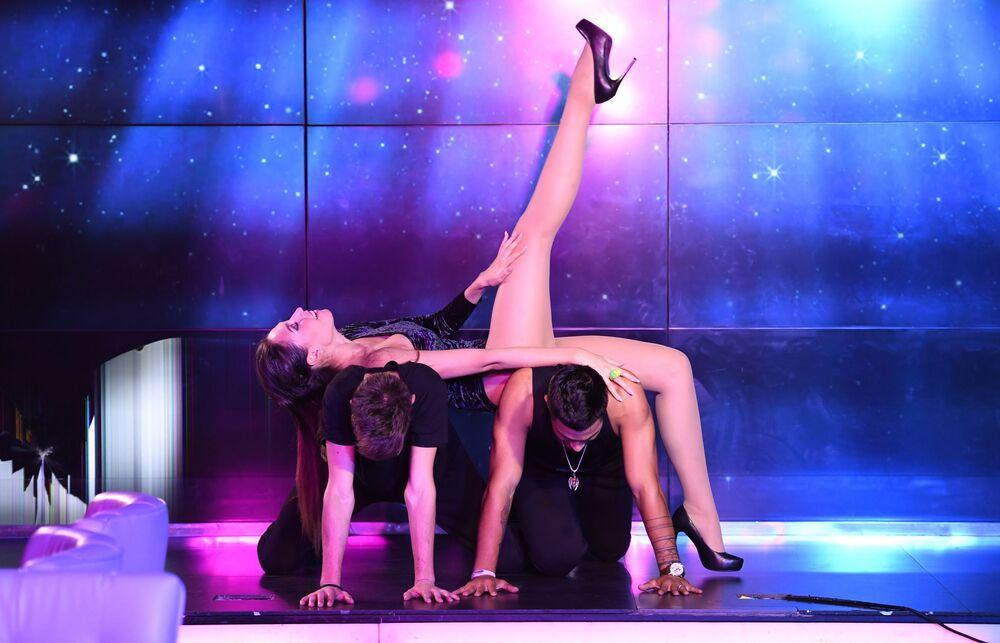 Talent show konkursu Miss Moskwy