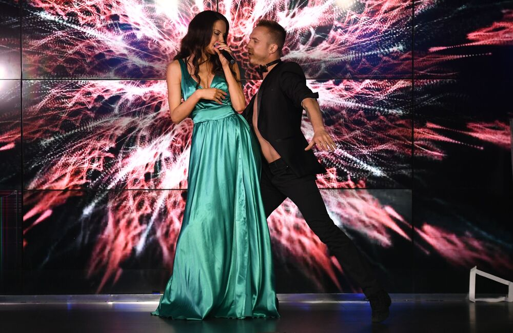Występ uczestniczki talent show Miss Moskwy