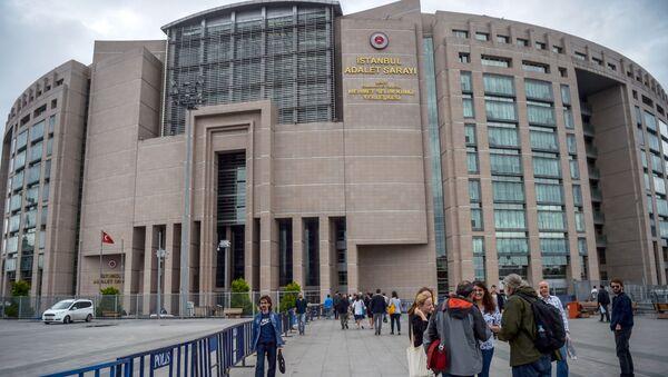 Budynek sądu w Stambule - Sputnik Polska