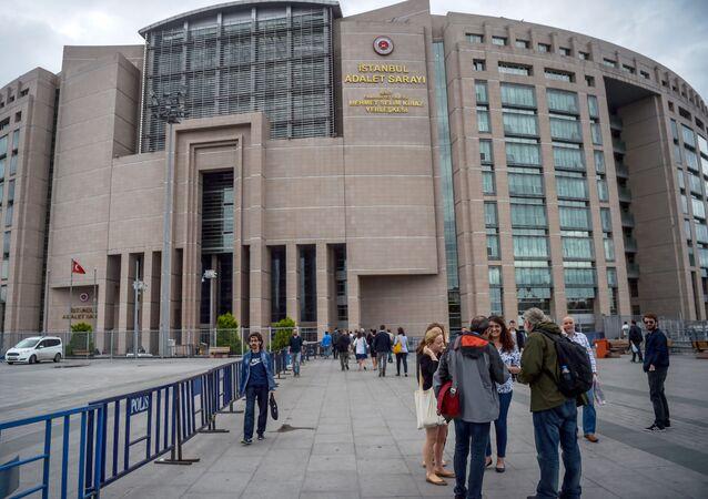 Budynek sądu w Stambule