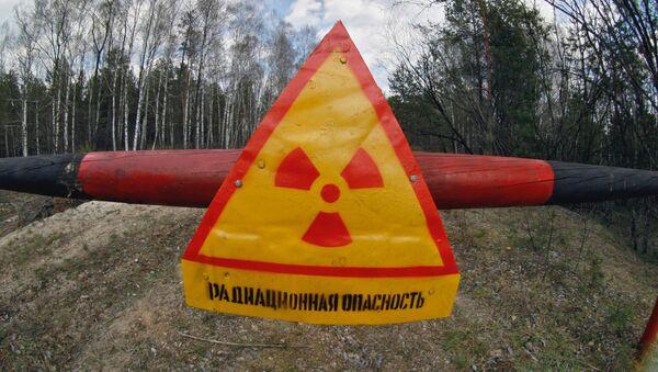 Znak ostrzegawczy promieniowania - Sputnik Polska