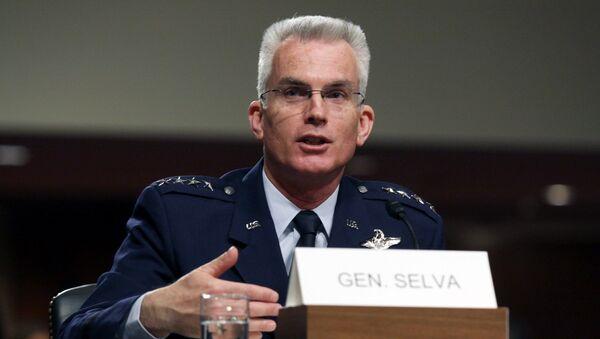 Wiceprzewodniczący Kolegium Połączonych Szefów Sztabów Stanów Zjednoczonych generał Paul Selva - Sputnik Polska