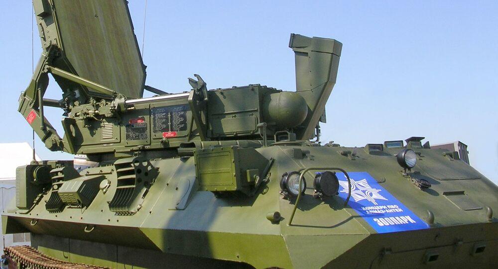 """Radiolokacyjny system rozpoznania pozycji artyleryjskich i rakietowych """"Zoopark"""""""