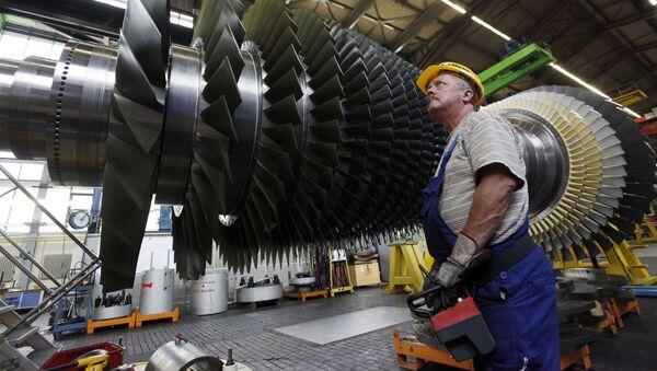Fabryka Siemensa w Niemczech - Sputnik Polska