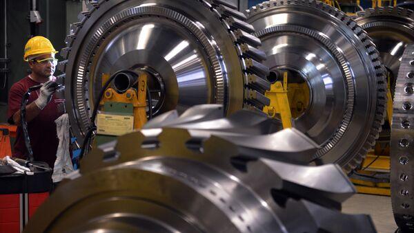 Siemens poinformował, że tymczasowo zawiesza dostawy oprzyrządowania elektrotechnicznego do rosyjskich przedsiębiorstw państwowych - Sputnik Polska