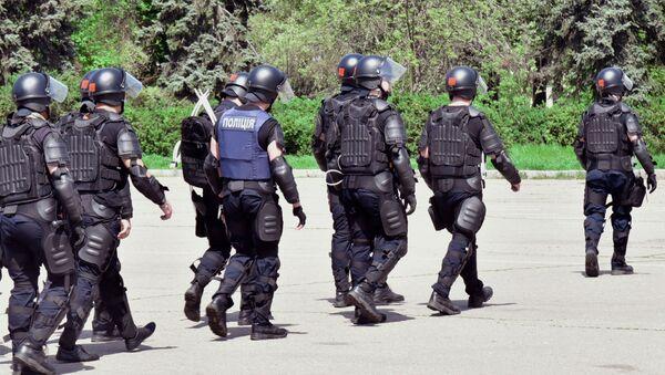 Funkcjonariusze policji w Odessie - Sputnik Polska
