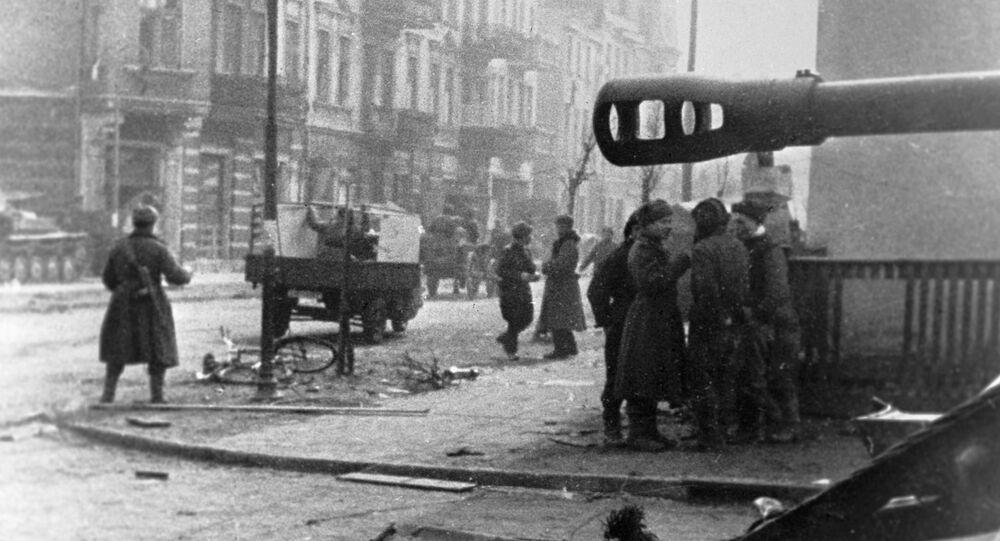 Wojska radzieckie w Gdańsku, 1945 rok